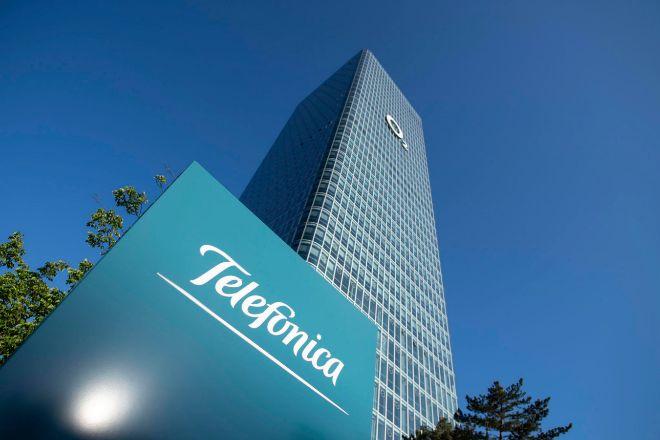 Sede de Telefonica y O2 in Munich, Alemania.