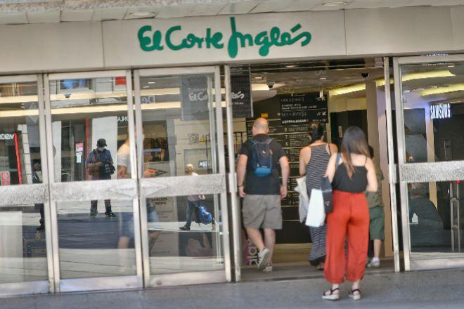 Centro de El Corte Inglés en Madrid.