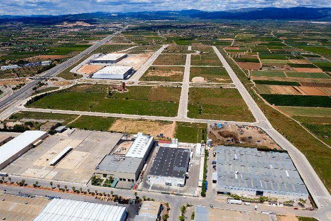 Polígono industrial en Llíria (Valencia).