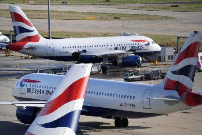 IAG hipoteca 48 aviones de British Airways