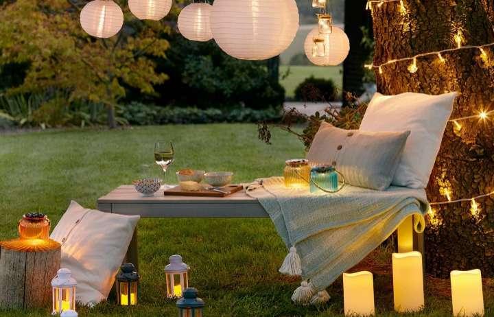 Las mejores luces LED, solares o eléctricas para jardines y terrazas