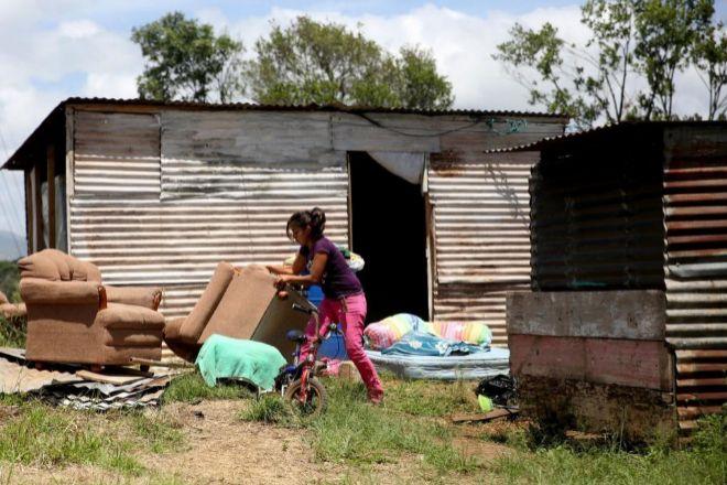 Un asentamiento en El Mirador de la colonia el Amparo, en la zona 7 de Ciudad de Guatemala (Guatemala), considerado uno de los países más desiguales del mundo.