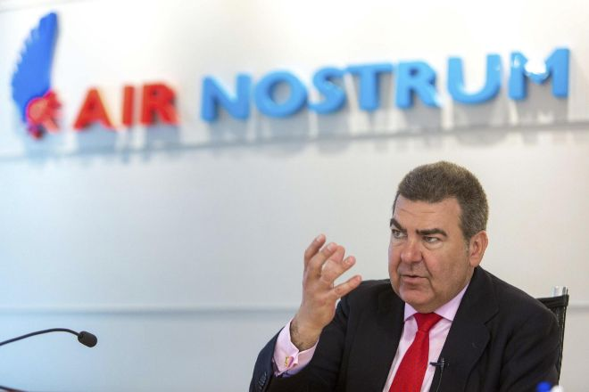 Carlos Bertomeu, presidente de Air Nostrum.