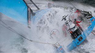El Vestas 11th Hour Racing, durante la pasada vuelta al mundo. |...