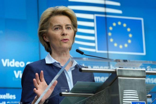 Ursula von der Leyen, presidenta de la Comisión Europea.