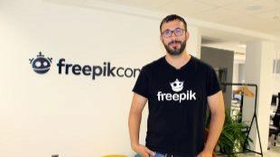 El CEO de Freepik, Alejandro Sánchez Blanes.