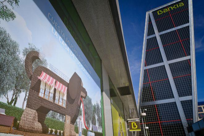 Vista de la sede de Bankia.