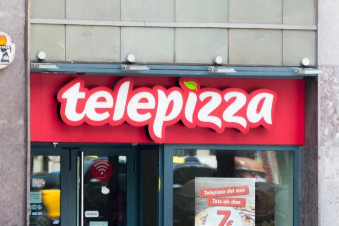 Establecimiento de Telepizza.