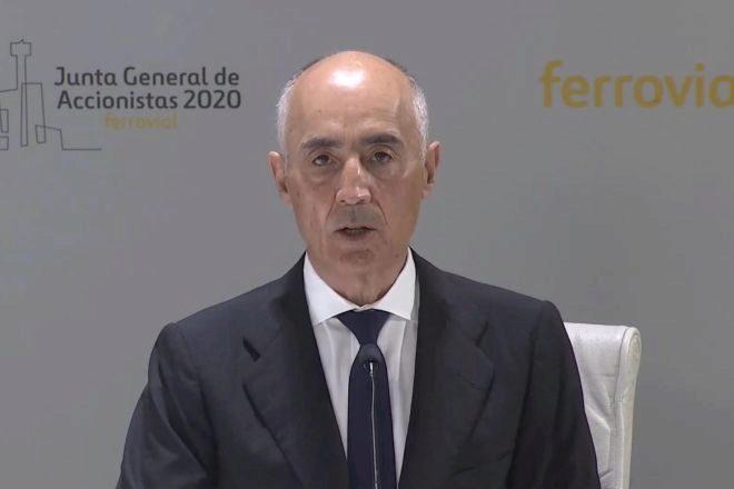 """Del Pino (Ferrovial): """"El estado de alarma no debe prorrogarse, es un obstáculo para la recuperación"""""""