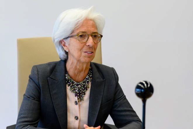 Christine Lagarde, presidenta delBCE.