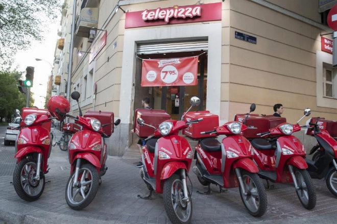 Telepizza está renegociando los alquileres de sus tiendas.