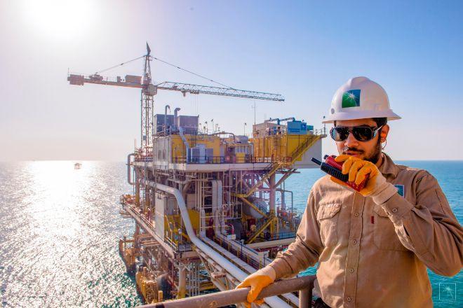 Instalaciones petrolíferas de Aramco, la petrolera estatal de Arabia Saudí