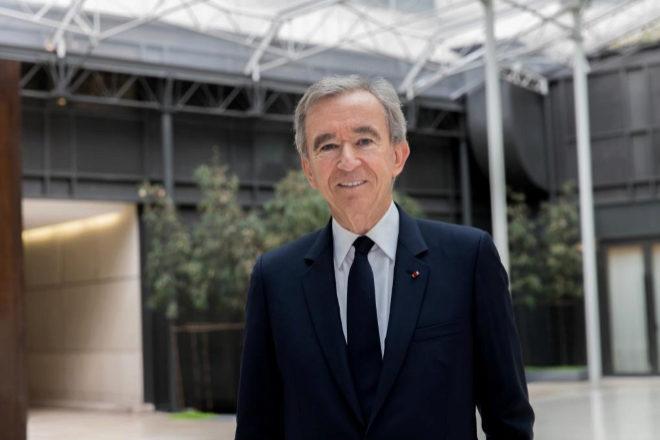Bernard Arnault, presidente y principal accionista del grupo LVMH.