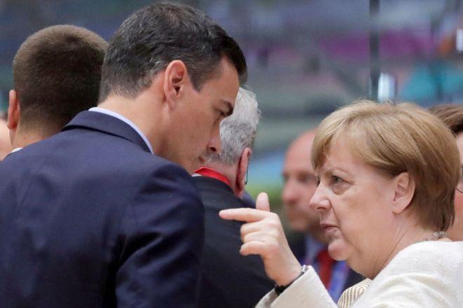 Aciago contraste entre Alemania y España