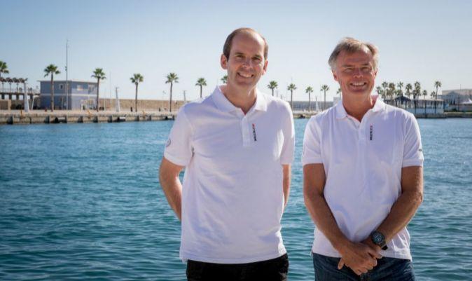 Richard Brisius y Johan Salén, copropietarios de The Ocean Race. | Ainhoa Sánchez / Volvo AB