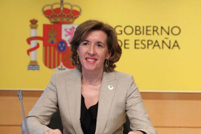 La secretaria de Estado de Economía y Apoyo a la Empresa, Ana de la Cueva.
