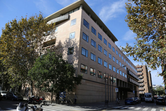 Abogados y procuradores claman por la falta de desinfección en los juzgados de Barcelona