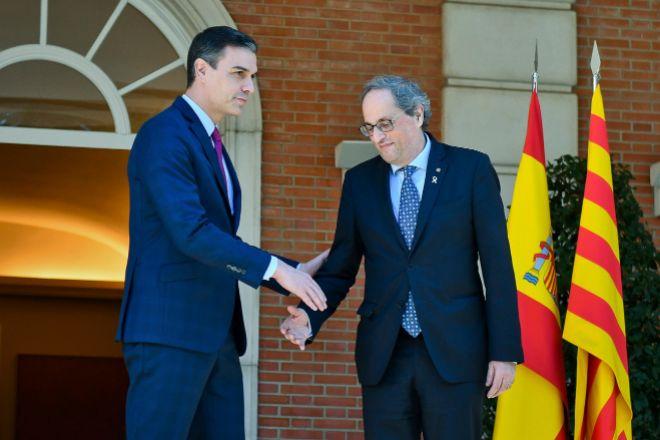 15.000  millones: el dinero que exigirá Torra a Sánchez por la pandemia del Covid-19