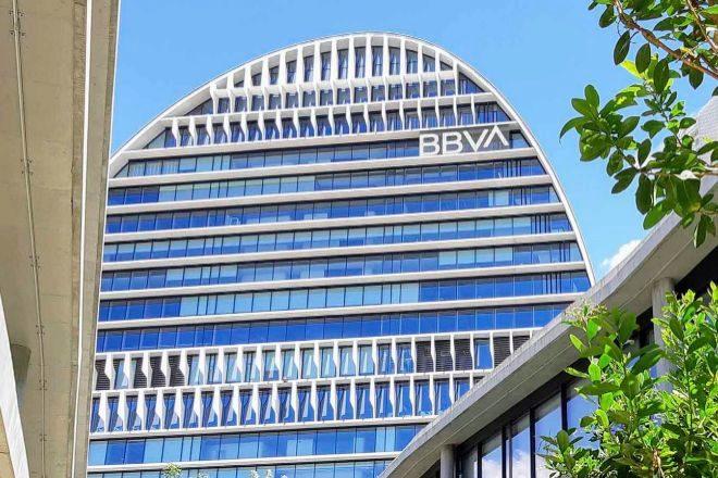 Sede de la BBVA en Madrid.