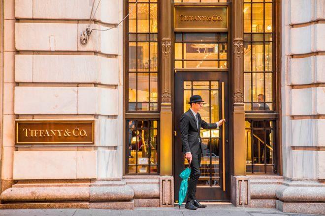 Tienda de Tiffany en Nueva York.