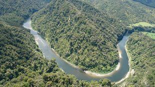 El río Whanganui, en la Isla Norte de Nueva Zelanda.   PANORAMIO