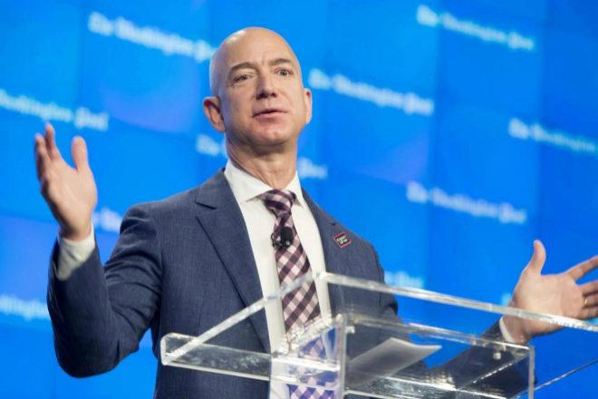 Jeff Bezos, fundador y primer ejecutivo de Amazon.