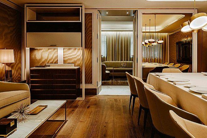 El restaurante Saddle, en Madrid, dispone de cuatro salones privados.