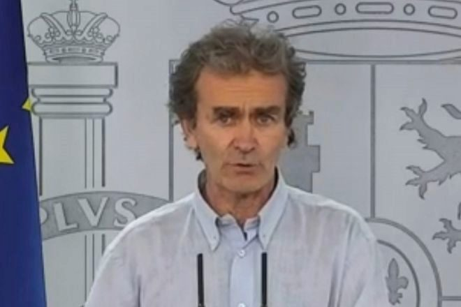 El director del Centro de Alertas y Emergencias Sanitarias, Fernando lt;HIT gt;Simón lt;/HIT gt;,.