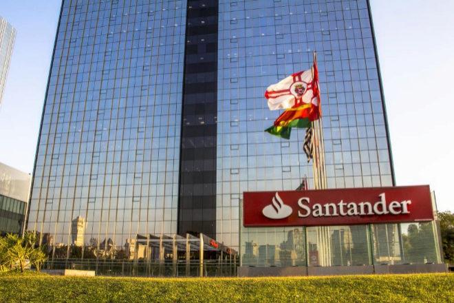 Sede de Santander en Brasil.