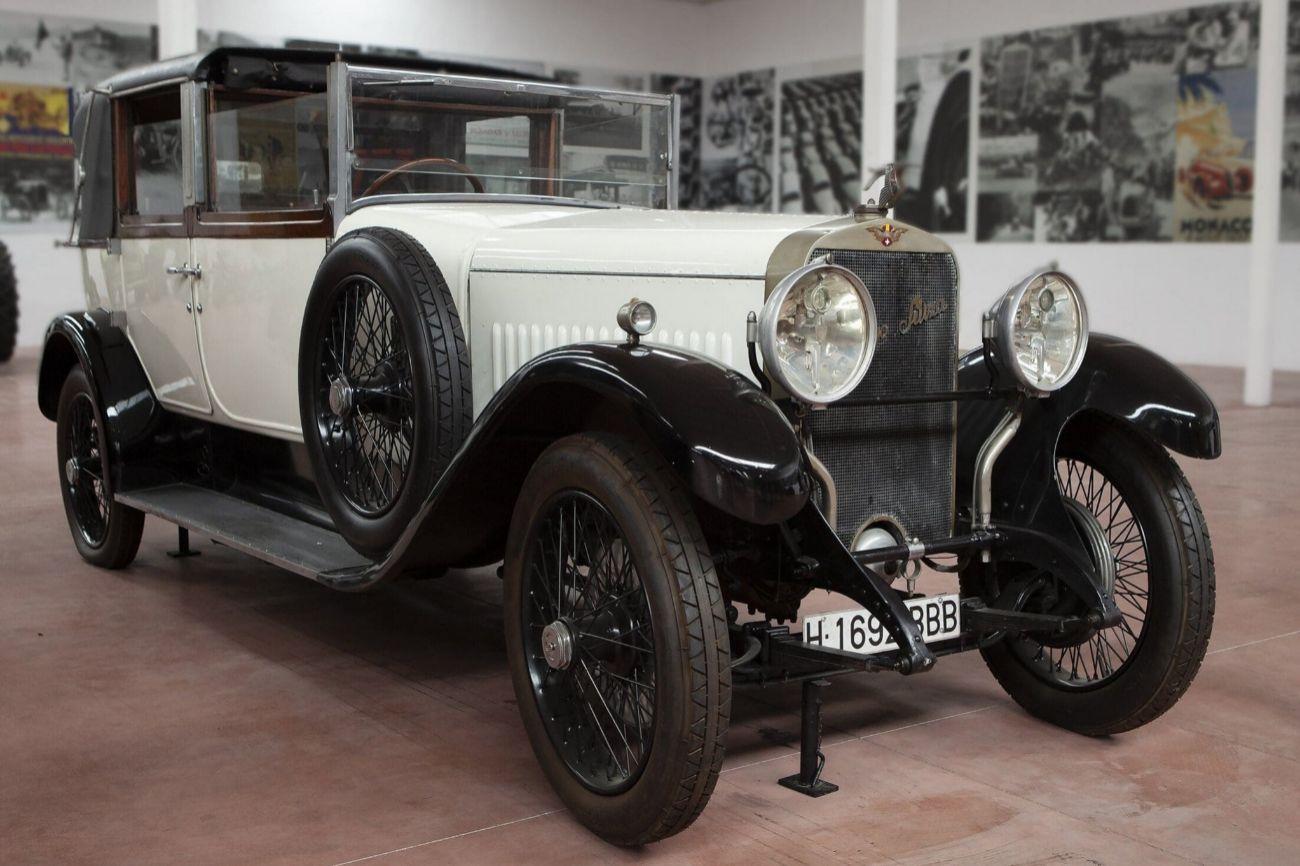 Hispano Suiza. Motor 6 Cilindros en linea, Gasolina....