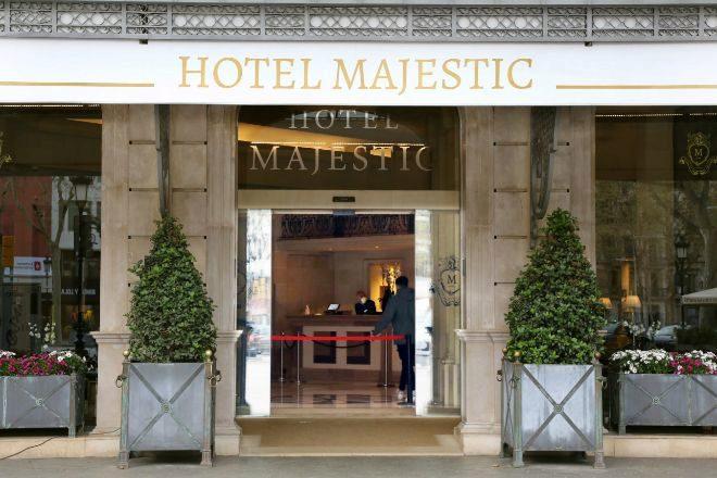 Un hotel situado en el centro de Barcelona, clausurado durante el...