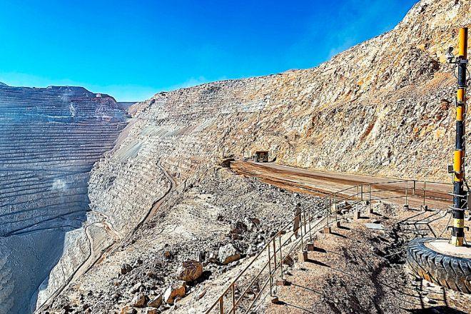Mina de cobre en Chuquicamata (Chile).