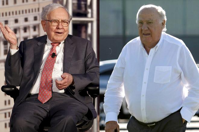 Buffett y Ortega: pérdidas multimillonarias por el Covid
