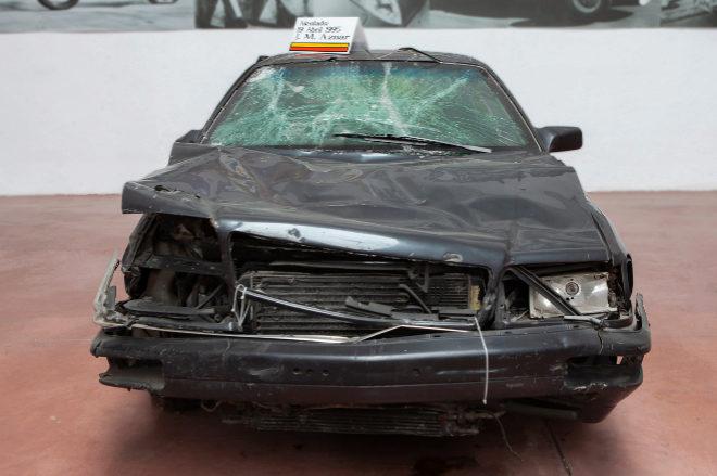Audi A8. Vehículo blindado en el que sufrió el atentado José María Aznar el 19 de abril de 1995. Precio de salida: 50.000 euros.
