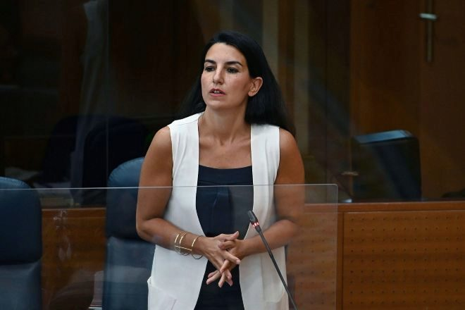 Rocío Monasterio, portavoz de Vox en la Asamblea de Madrid.