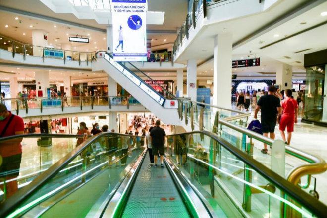 Imagen del centro comercial La Vaguada, en Madrid.