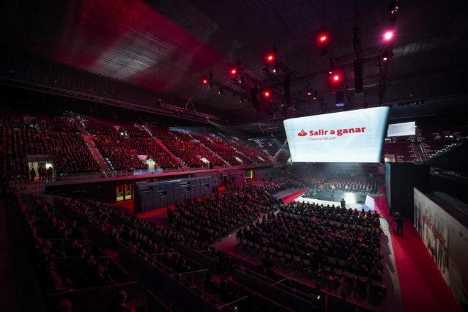 Una de las juntas generales de Santander organizada por EDT.