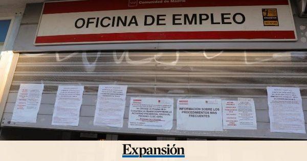 El paro registrado sube en junio en 5.107 personas  aunque la afiliación mejora y 1,1 millones de empleados sale del ERTE