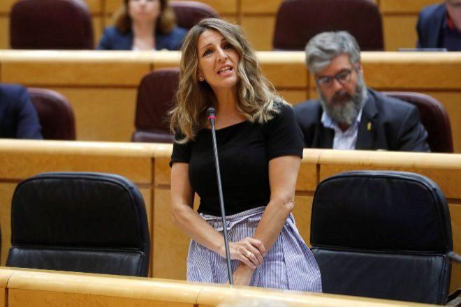 Díaz: los ERTE podrían prorrogarse hasta finales de año o hasta 2021 para los...