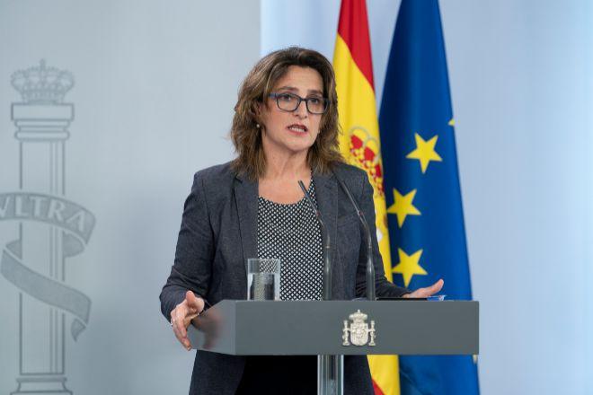 Teresa Ribera es la ministra para la Transición Ecológica y el Reto Demográfico y vicepresidenta cuarta del Gobierno.