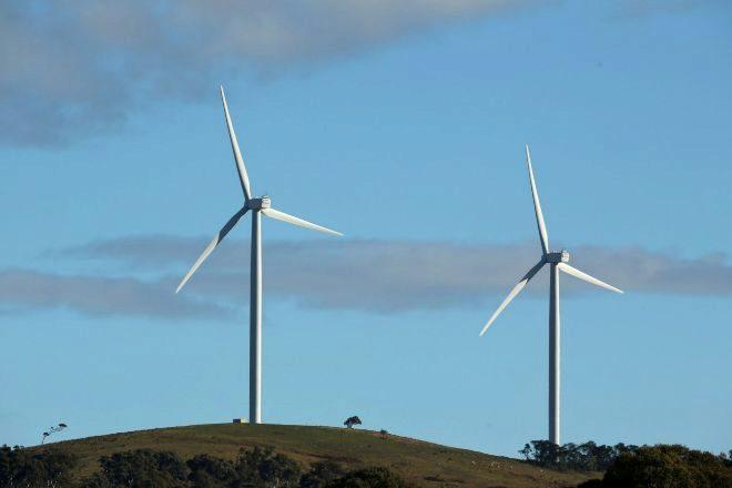 Parque eólico  de Infigen en Australia
