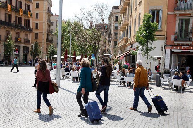En el barrio del Born de Barcelona, se empezó a impulsar a principios...