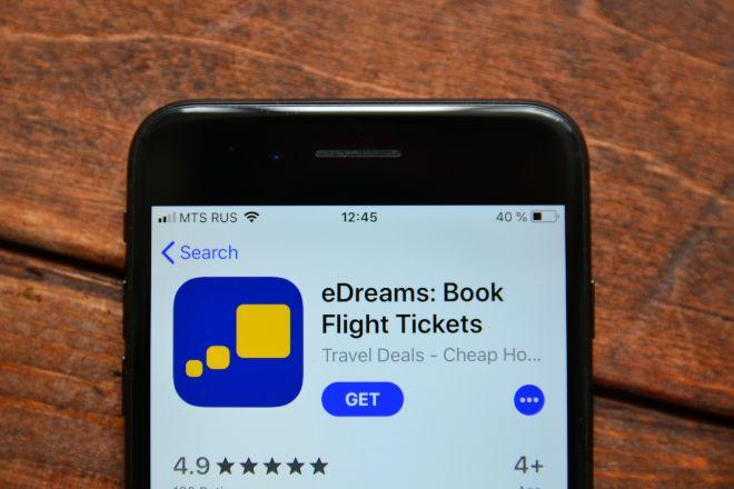 Aplicación de eDreams