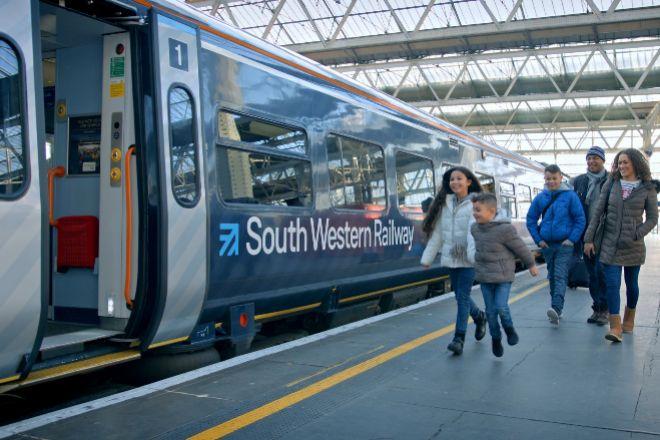 Imagen del negocio ferroviario de FirstGroup