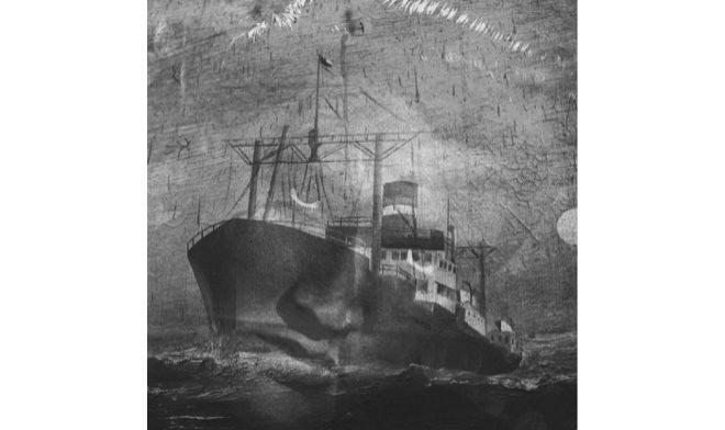 """Recuerdo de Valparaíso"" (2015), Alberto García-Alix. Tamaño: 47x47. Técnica: barite paper."
