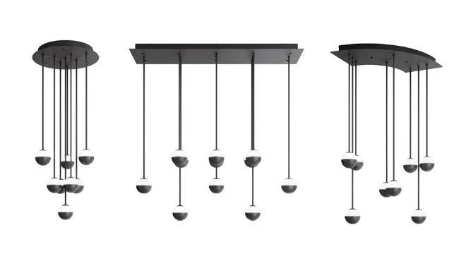 Tres modelos de techo distintos de Alfi.