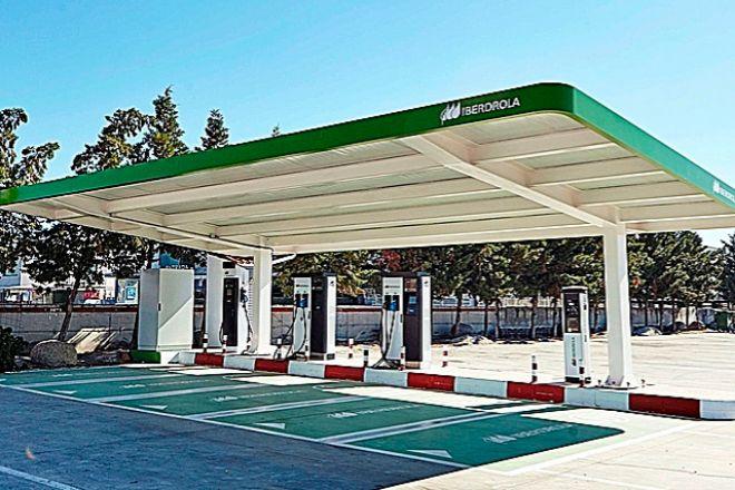 Nueva estación Premium de Iberdrola en Monesterio (Extremadura).
