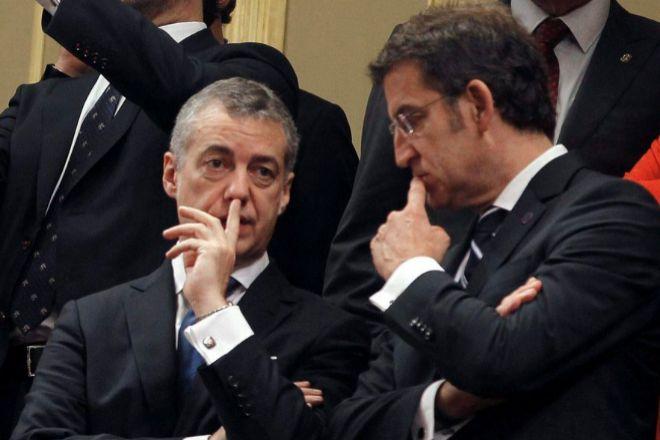 Íñigo Urkullu y Alberto Núñez Feijoo.