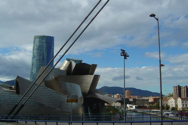 Vista de Bilbao.