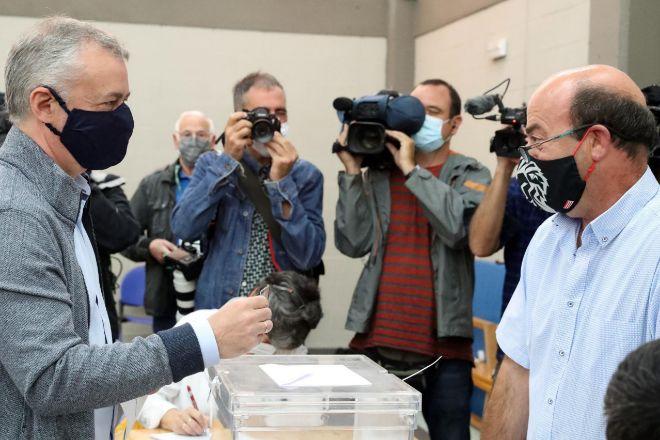 El lehendakari y candidato a la reelección Iñigo Urkullu.